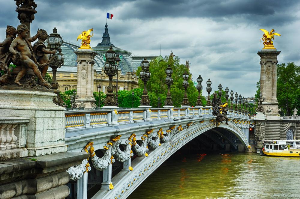 Vue du Grand Palais