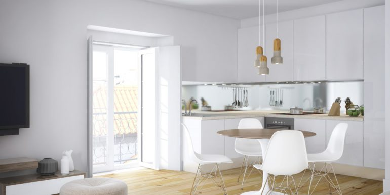 4- Sala cozinha modelo